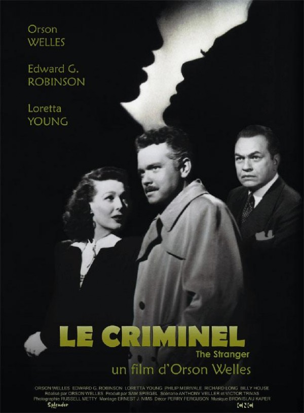 Le Criminel : Affiche