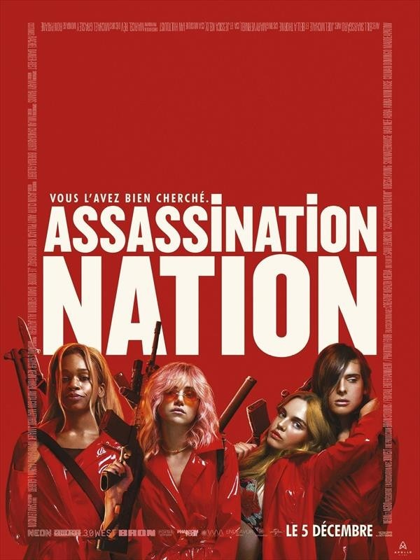 Assassination Nation, affiche