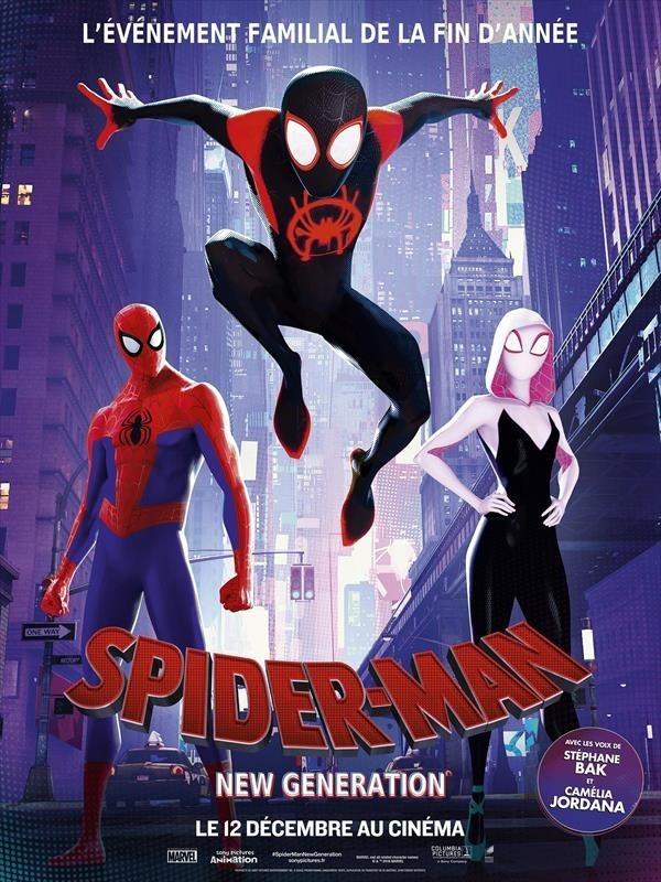 Spider-Man : New Generation, affiche
