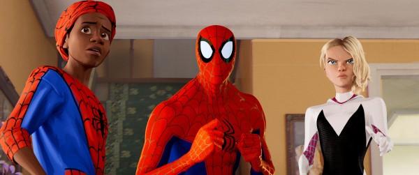 Miles Morales, Peter Parker, Spider-Gwen
