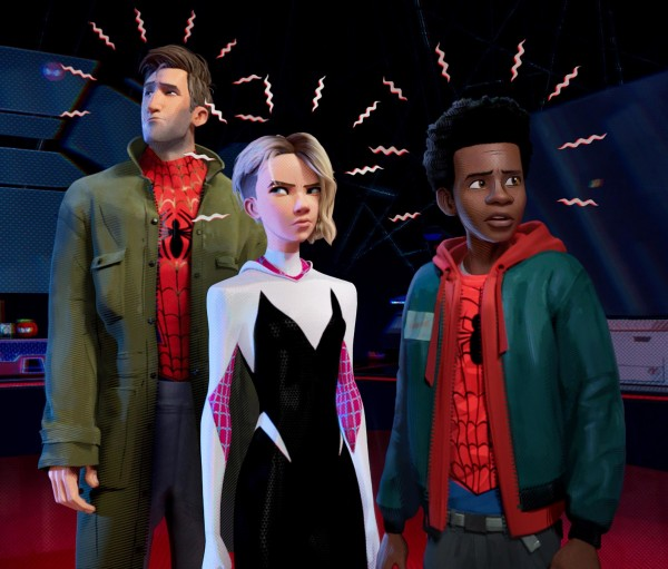 Peter Parker, Gwen Stacy, Miles Morales