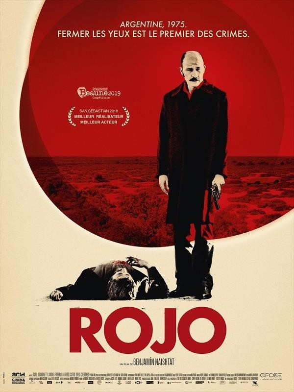 Rojo, affiche