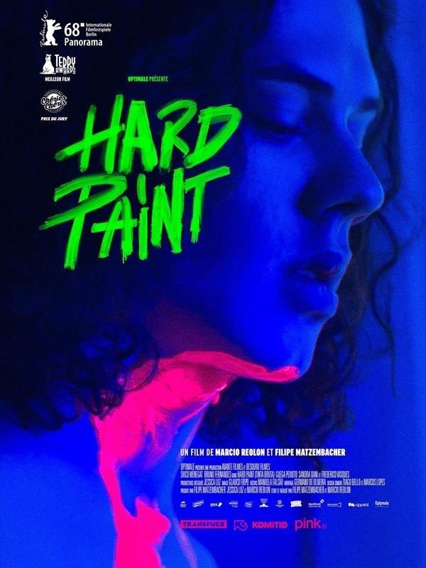 Hard Paint, affiche