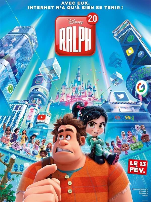 Ralph 2.0, affiche