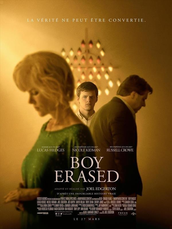 Boy Erased, affiche