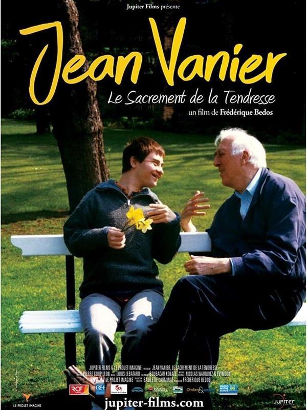 Jean Vanier, le sacrement de la tendresse, affiche