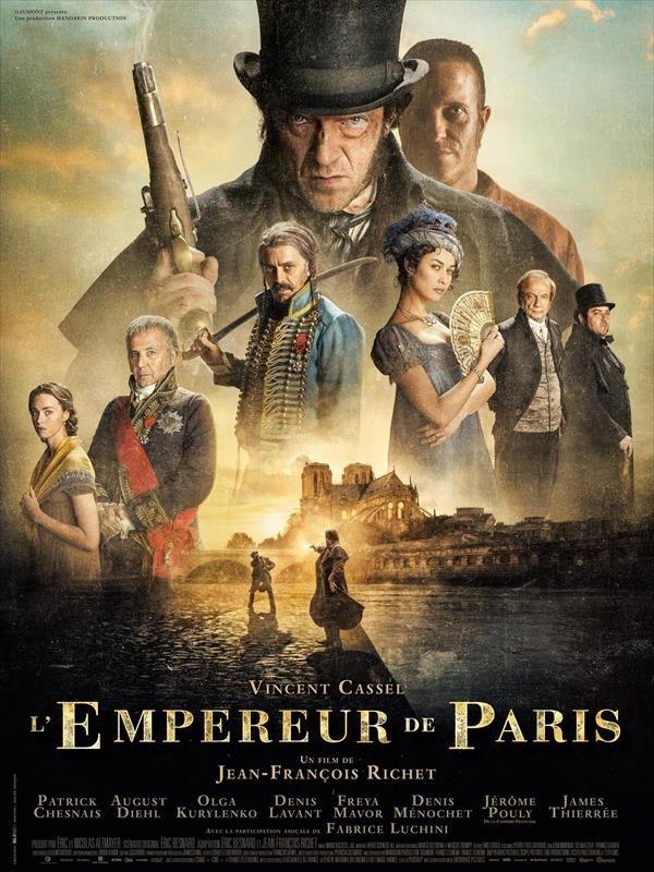 L'Empereur de Paris, affiche