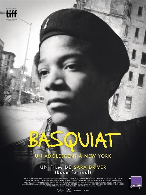Basquiat, affiche