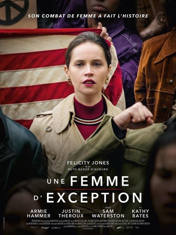 Une Femme d'exception, affiche