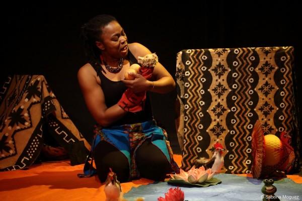 Sambo le petit lion à l'Aktéon Théâtre