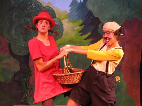 Le Grand chaperon rouge et le petit loup à l'Aktéon Théâtre