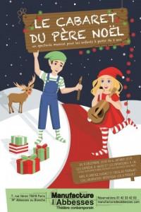 Le Cabaret du Père Noël à La Manufacture des Abbesses