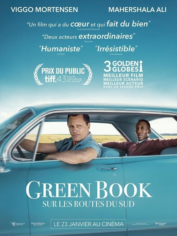 Green Book : Sur les routes du sud, affiche