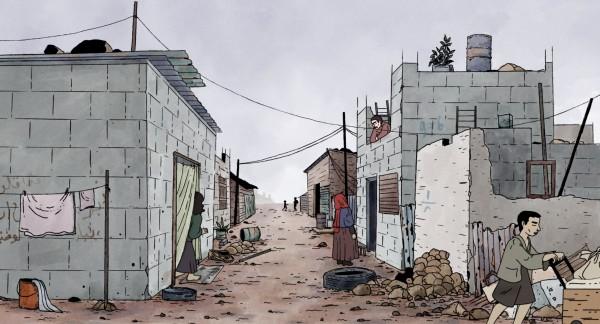 Un camp de réfugiés, Beyrouth