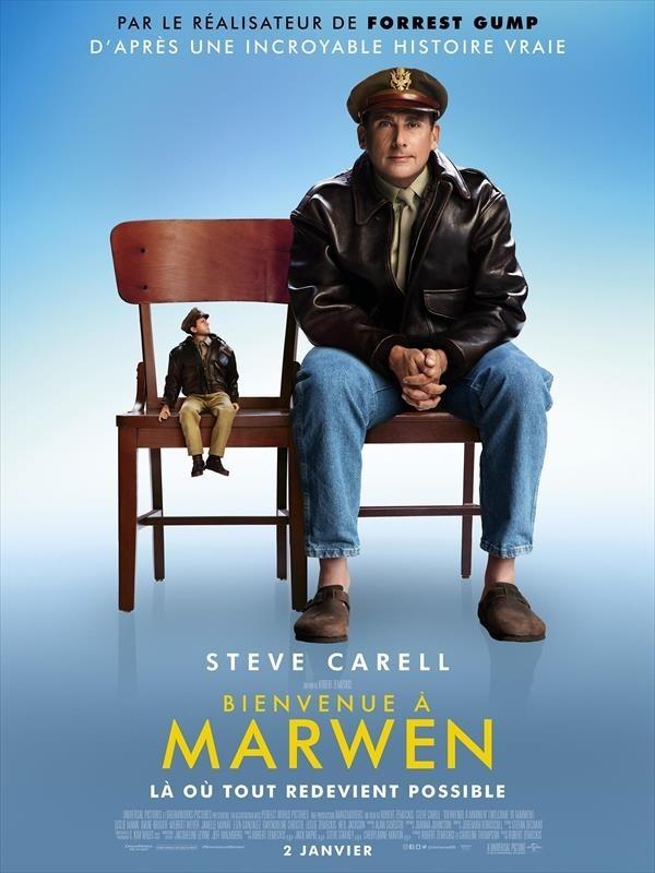 Bienvenue à Marwen, affiche