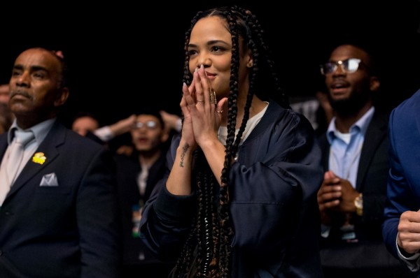 Tessa Thompson, personnages