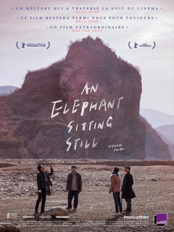 An Elephant Sitting Still, affiche