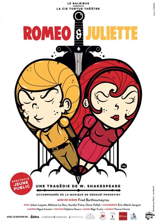 Romeo & Juliette - Affiche
