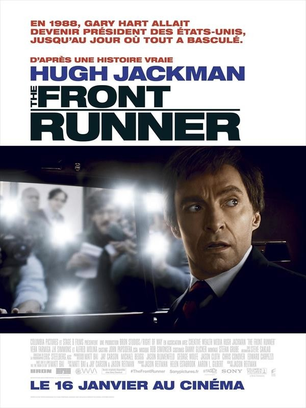 The Front Runner, affiche