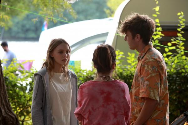 Lily-Rose Depp, Aloïse Sauvage, Yoann Zimmer