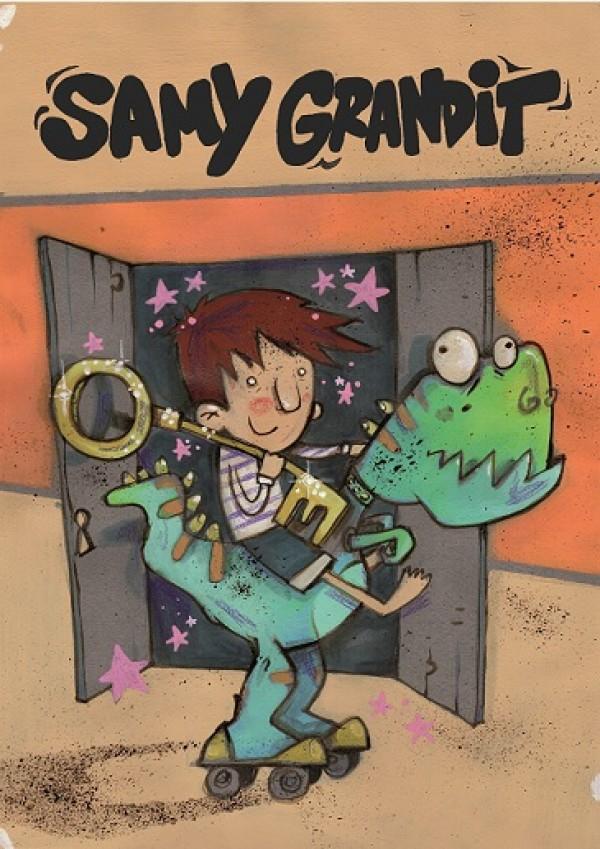 Samy Grandit - Affiche