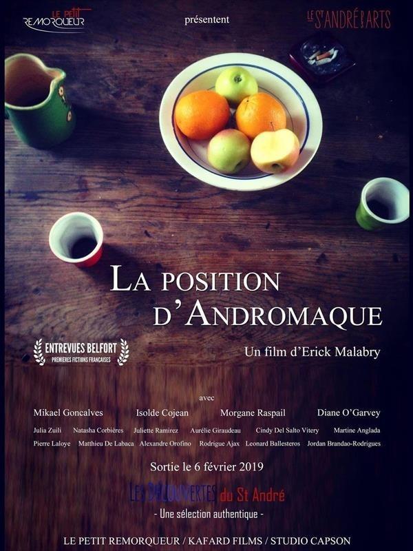 La Position d'Andromaque, affiche