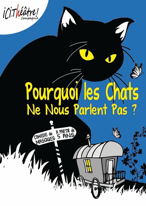 Pourquoi les chats ne nous parlent pas ? - Affiche