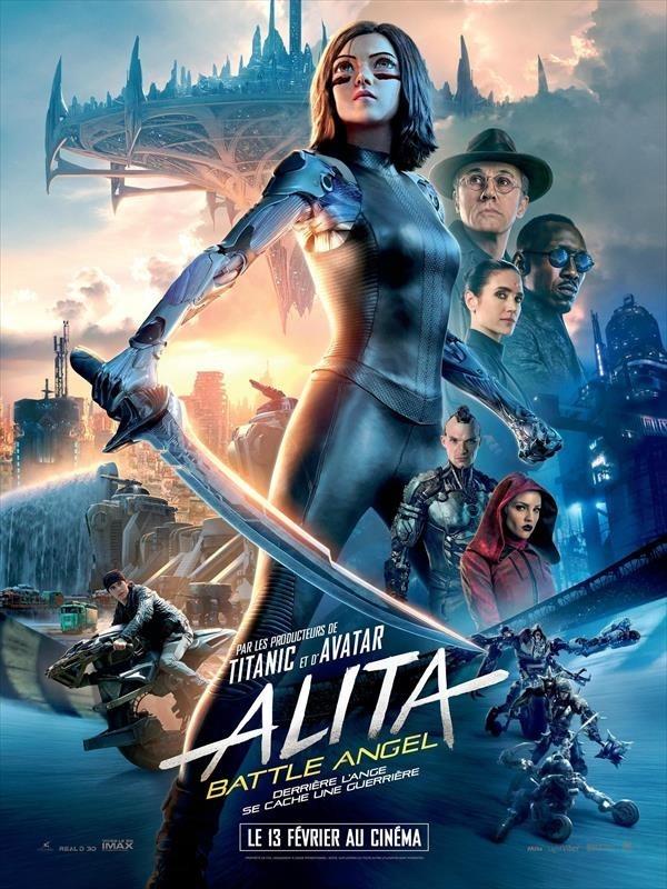 Alita : Battle Angel, affiche