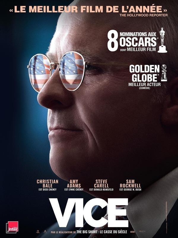 Vice, affiche