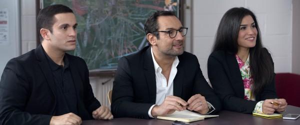 Malik Bentalha, Gilles Lellouche, Sabrina Ouazani