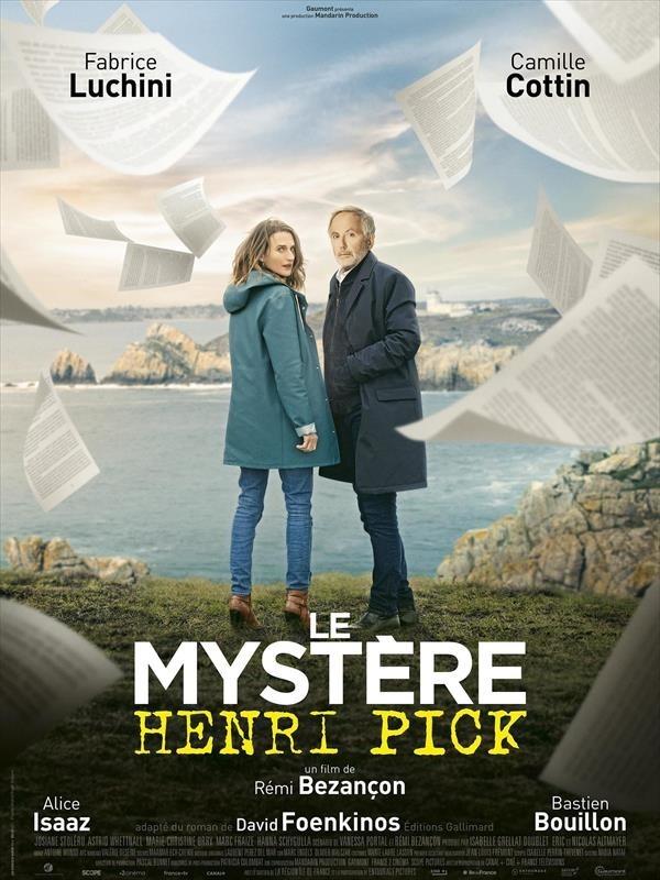 Le Mystère Henri Pick, affiche