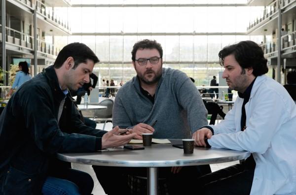 Melvil Poupaud, Denis Ménochet, Éric Caravaca