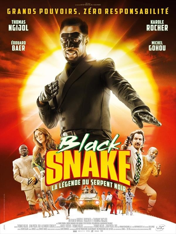 Black Snake, la légende du serpent noir, affiche