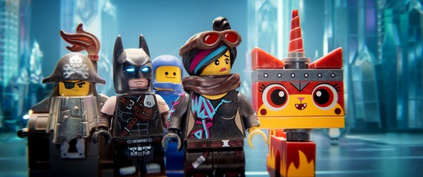 Metal Beard, Batman, Benny, Lucy, Unikitty