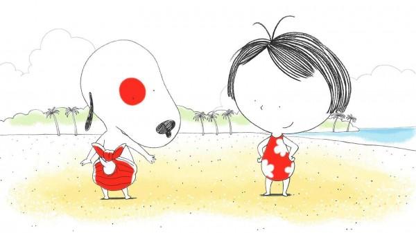 « Rita et Machin à la plage »