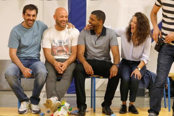 Gringe, Franck Gastambide, Youssef Hajdi, Camille Lellouche