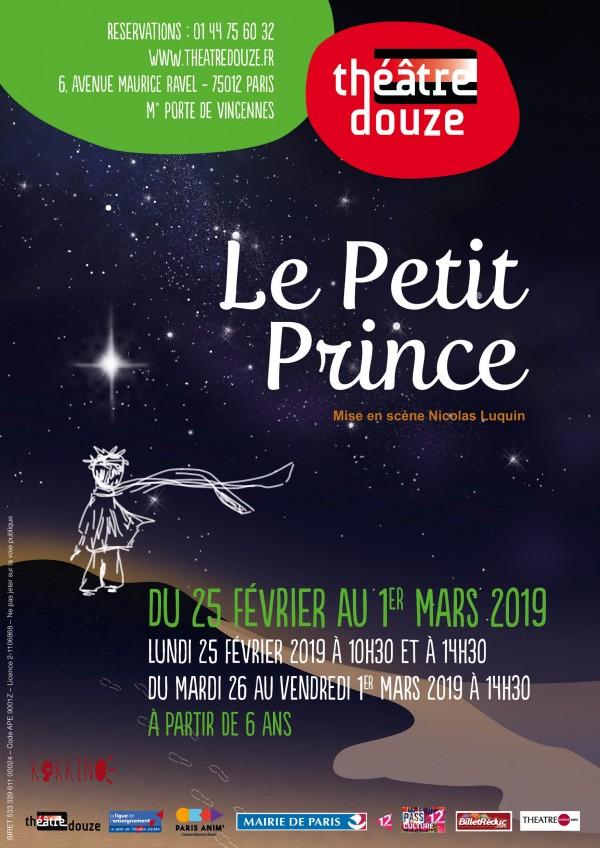 Le Petit prince au Théâtre Douze