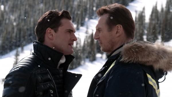 Tom Bateman, Liam Neeson