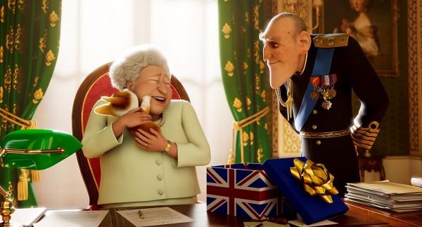 Élisabeth II, la Reine d'Angleterre, Rex, le Prince Philip