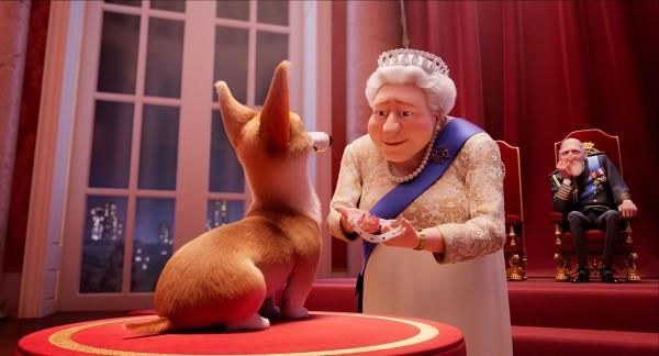 Charlie, la Reine d'Angleterre, le Prince Philip