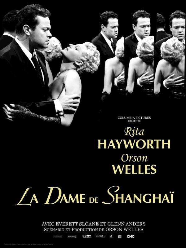 La dame de Shanghai, Affiche