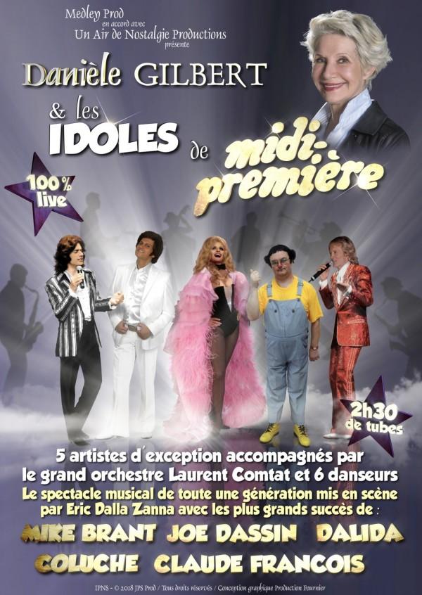 Danièle Gilbert et les Idoles de Midi-Première - Affiche