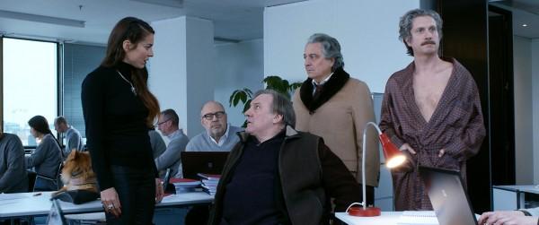 Audrey Dana, Gérard Depardieu, Christian Clavier, personnage