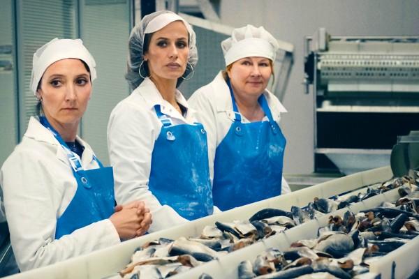 Audrey Lamy (Marilyn Santos), Cécile de France (Sandra), Yolande Moreau (Nadine Dewulder)