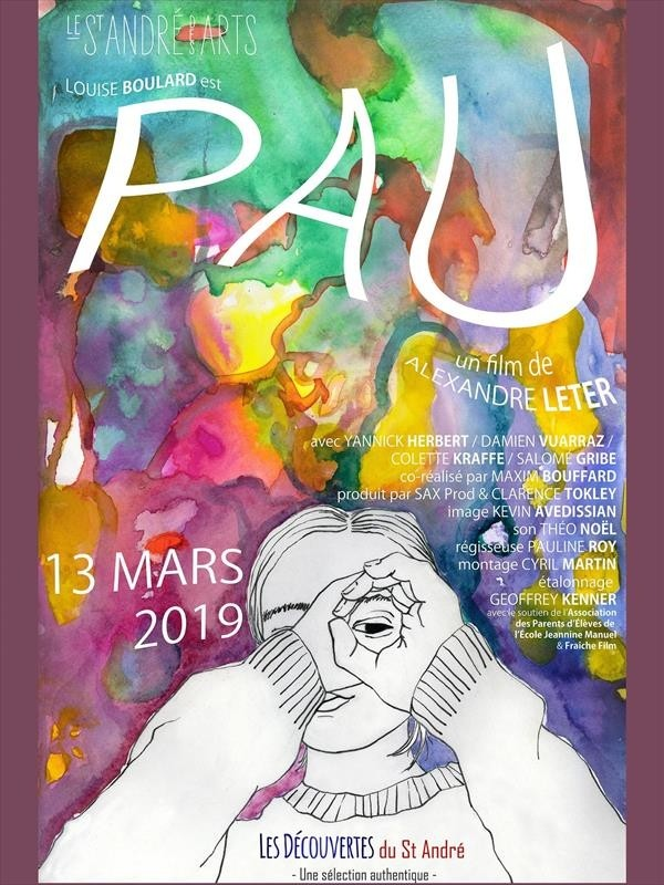 Pau, affiche