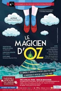 Le Magicien d'Oz au Théâtre de verdure du Jardin Shakespeare