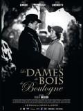 Les Dames du Bois de Boulogne, Affiche version restaurée