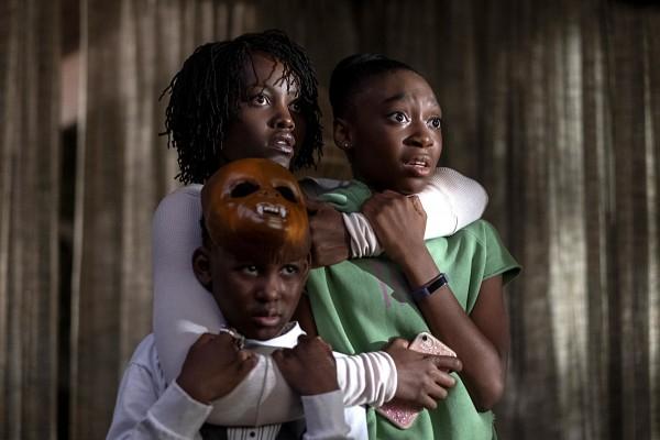 Lupita Nyong'o, Evan Alex, Shahadi Wright Joseph
