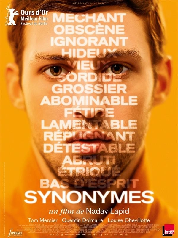 Synonymes, affiche