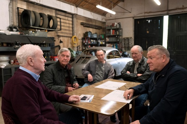 Michael Caine, Tom Courtenay, Paul Whitehouse, Jim Broadbent, Ray Winstone